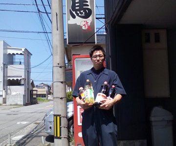焼き鳥 龍馬 鶴崎店様よりソースなどの調味料をご寄付いただきました。