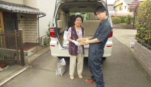 大分市内のマツオ様から食品の寄付を頂きました。