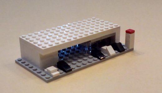 地元大在周辺の事業所を象ったレゴ・ブロック作品